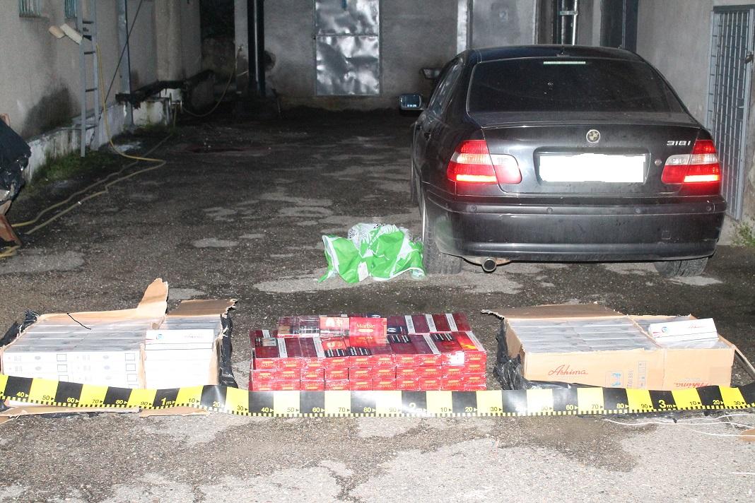 Mehedinți: Captură de 50.000 de țigări de contrabandă la Orșova