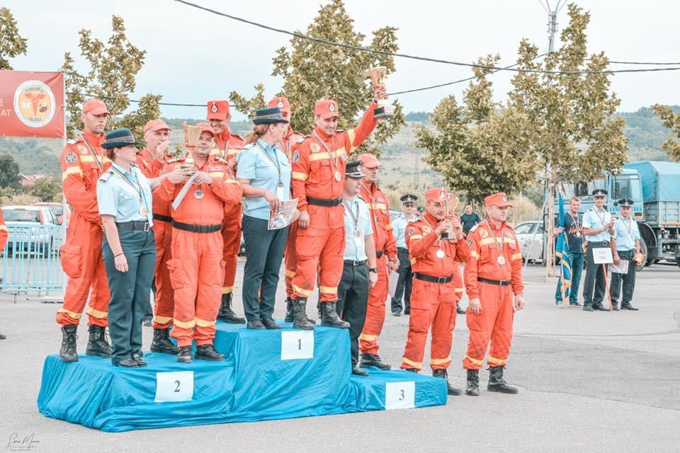 Pompierii din Gorj, Dolj și Vâlcea, pe podium. ISU Dolj, cei mai buni la descarcerări