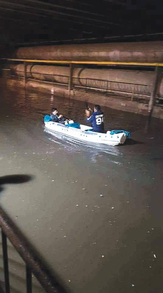 Măsuri luate după inundațiile de sâmbătă seara din Craiova: s-a format un grup local de intervenție
