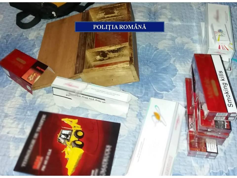 Dolj. Percheziţii la persoane bănuite de contrabandă cu ţigarete