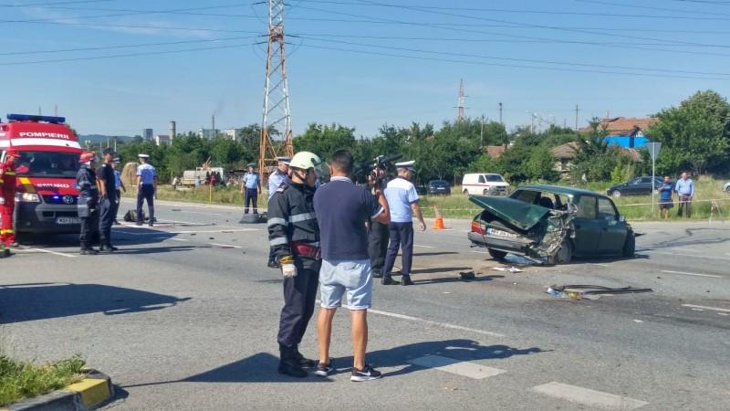 Mehedinți: Accident teribil pe Centura Severinului. Un om a murit
