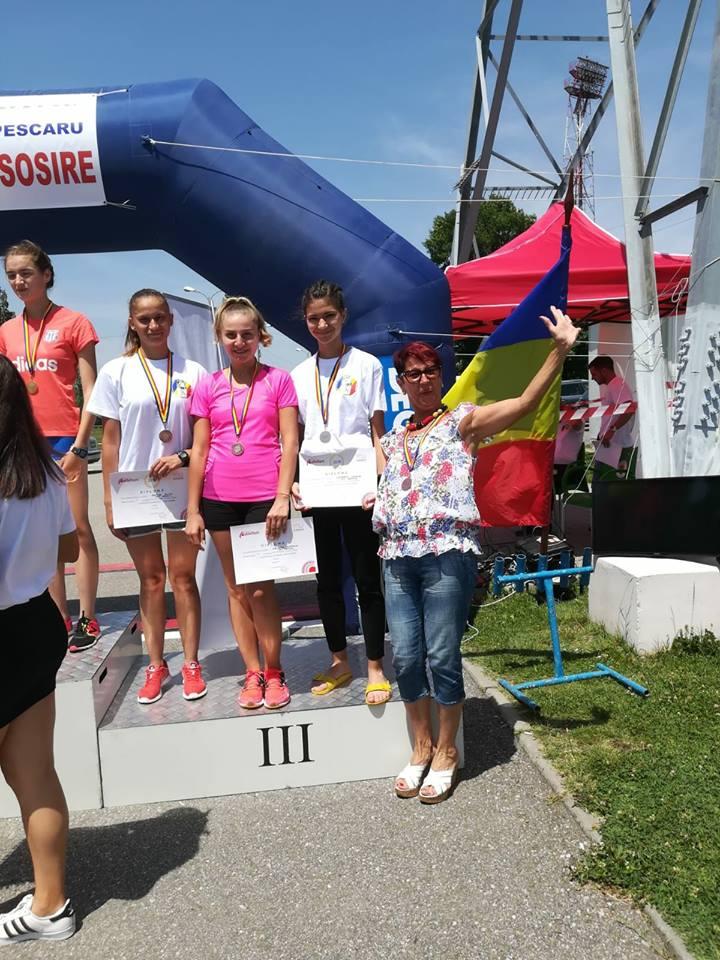 Bronz național pentru echipa de mărșăluitoare a CSM Craiova
