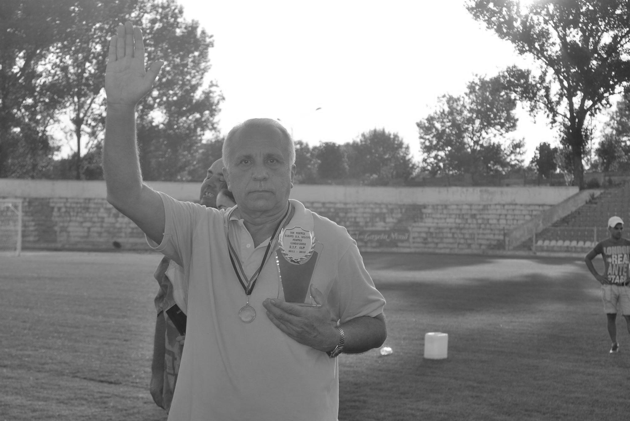 S-a stins din viaţă fostul preşedinte al AJF Olt, Constantin Constantinescu