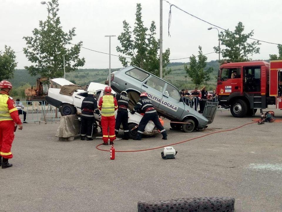 Competiția Națională a pompierilor olteni a luat startul joi