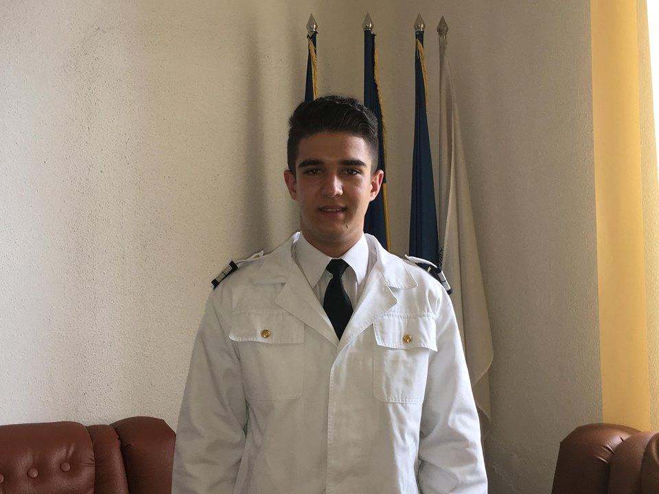 Tineri cu care ne mândrim! Elev al Colegiului Militar din Craiova, bursier la Academia Navală a SUA