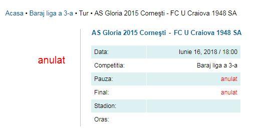 Ceea ce ieri era 99%, azi e 100%. FC U Craiova va juca în C!