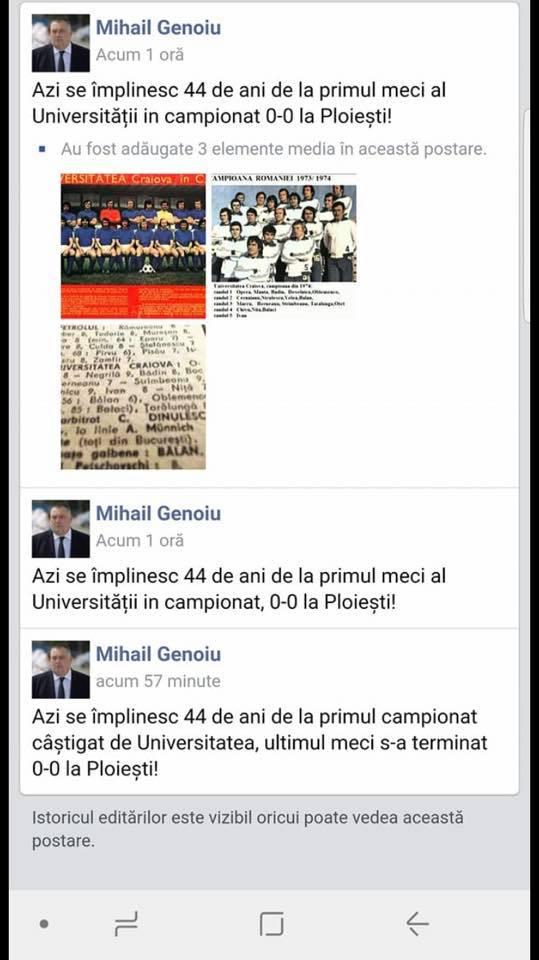 Primarul Genoiu, corigent la disciplina istoria Științei!