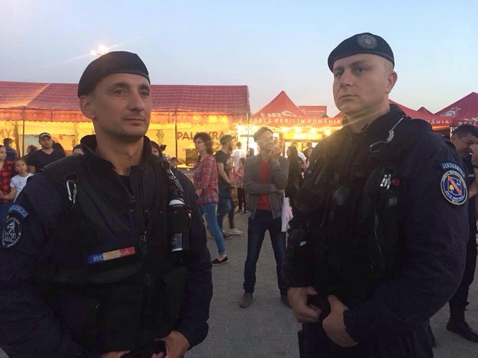 """Mehedinți: Jandarmii au fost în misiune la ,,Floarea Teiului"""""""