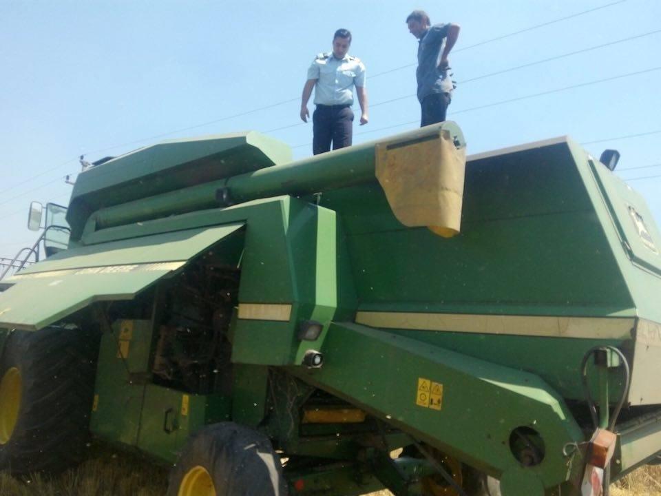 Mehedinți: Treieratul cerealelor, monitorizat de pompieri