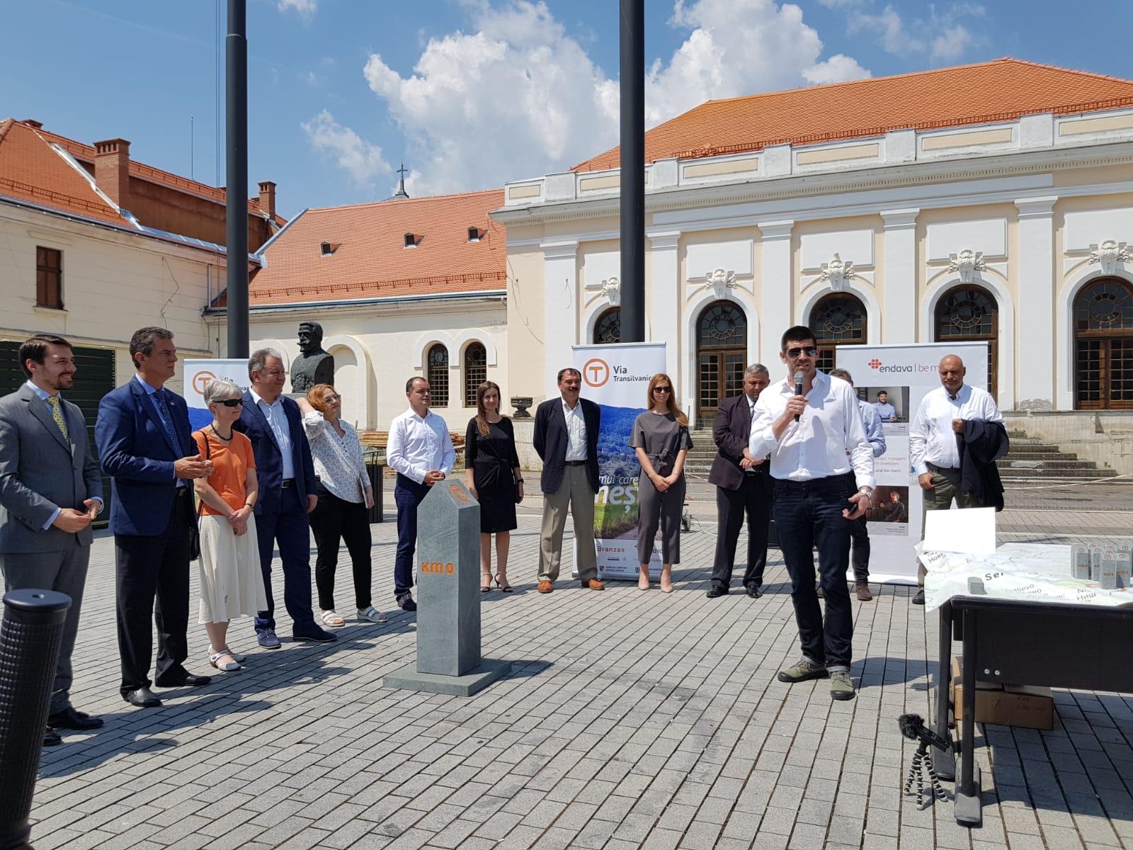 """CJ Mehedinți sprijină proiectul ,,Via Transilvanica"""""""