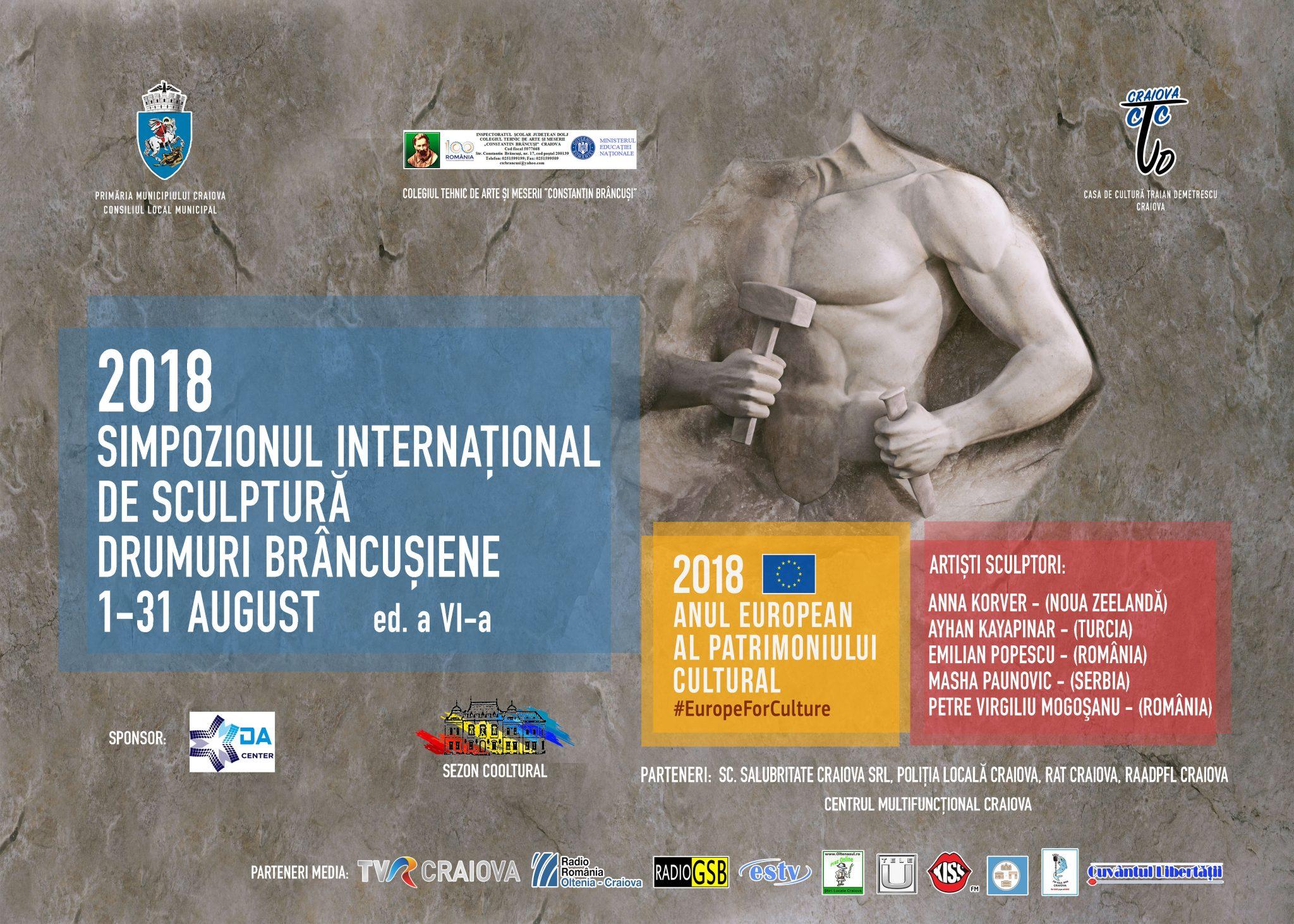 """""""Drumuri Brâncuşiene"""", în anul Centenarului, la Colegiul """"Constantin Brâncuşi"""""""