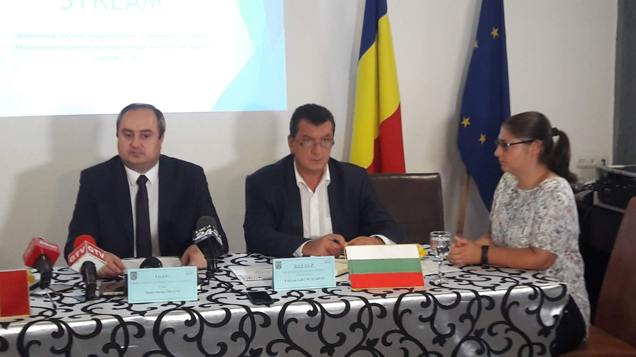 Proiect al Inspectoratului General Pentru Situaţii de Urgenţă, prezentat la Craiova