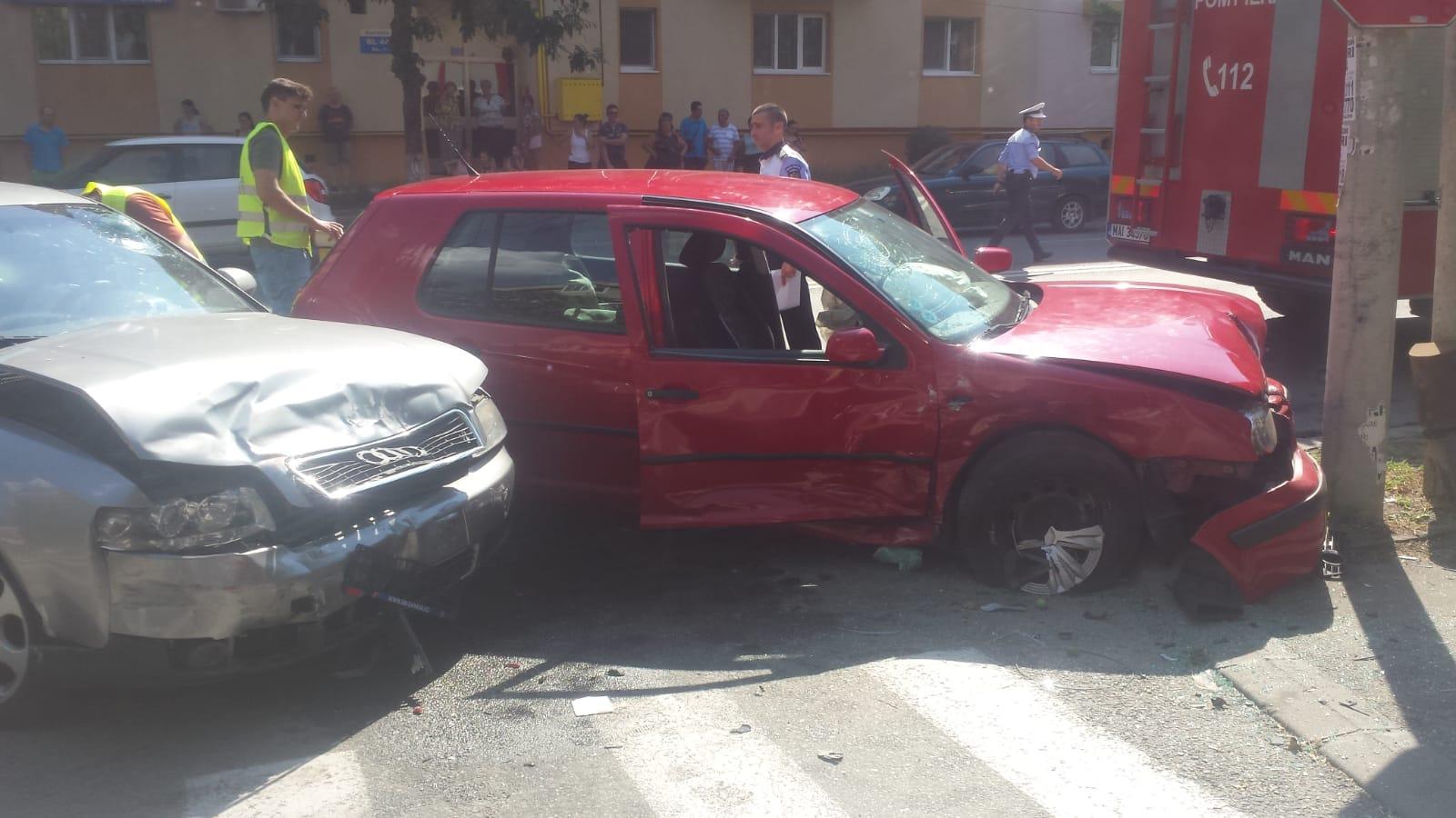 Accident în Brazdă provocat de un șofer de 70 ani
