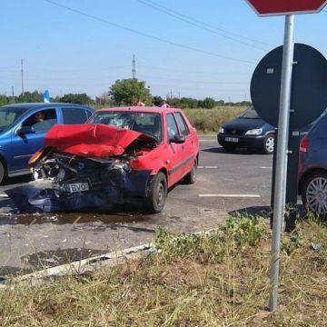 Accident cu șase victime pe centura Caracalului. Trei sunt copii