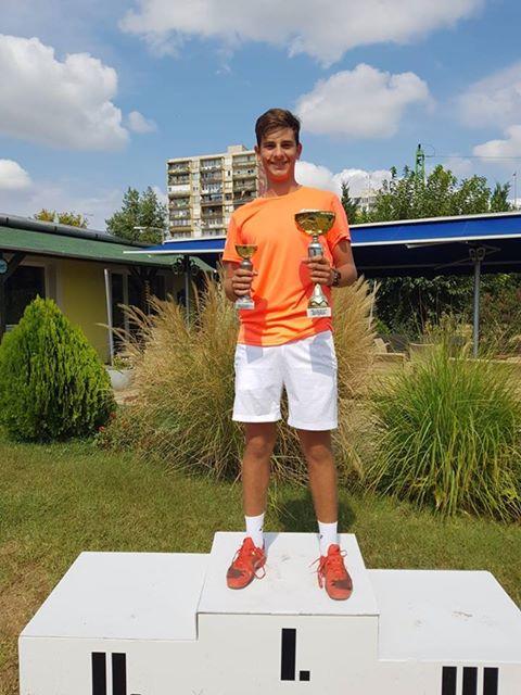 Craioveanul Alex Coman a câștigat un turneu internațional la Budapesta