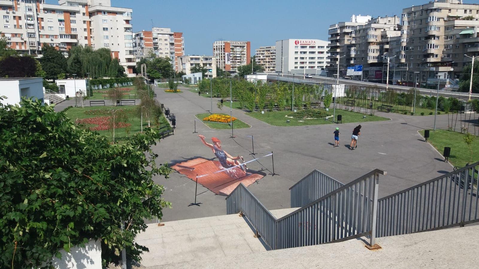 Craiova 3D. Artă stradală pentru fotografii inedite cu telefonul mobil