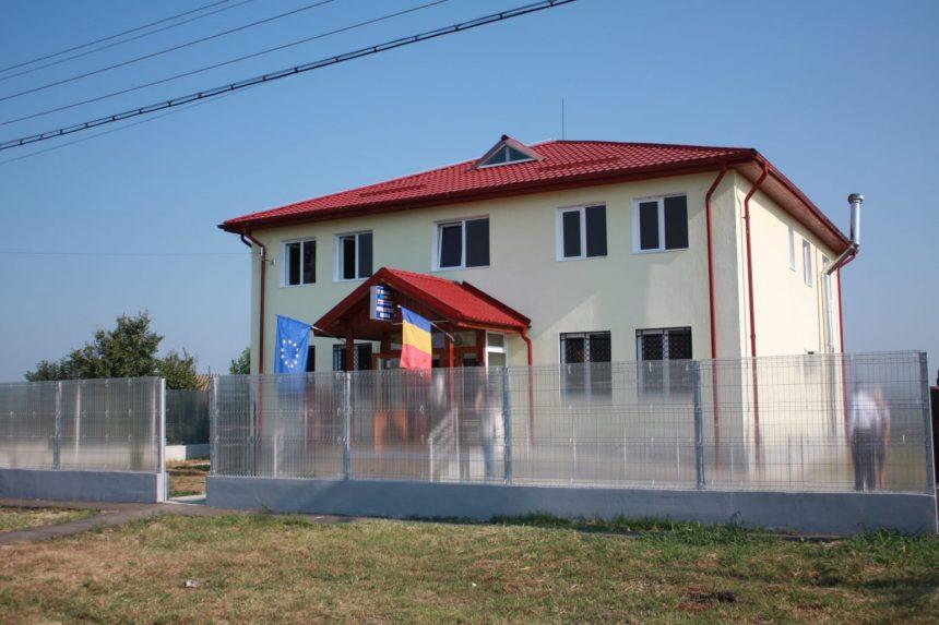 Noul sediu al Postului de Poliţie Dumbrava, inaugurat