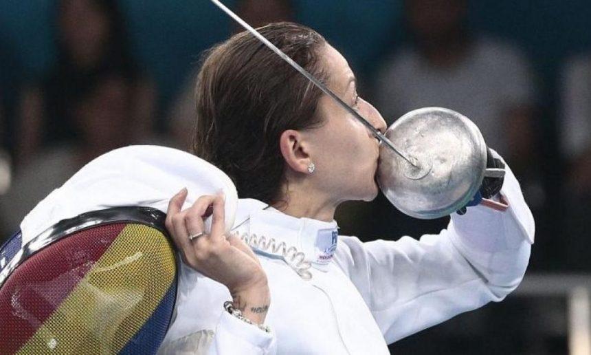 Ana-Maria Popescu a câştigat Cupa României la spadă