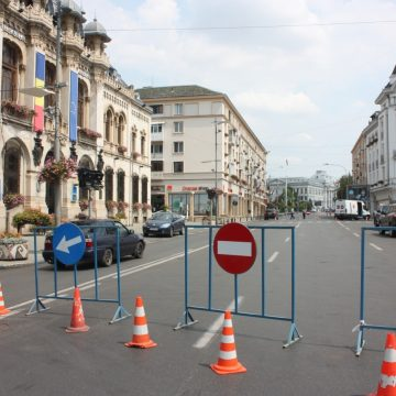 Craiova. Se închide circulaţia pe A.I. Cuza