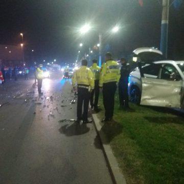 """UPDATE/VIDEO – Accident la """"Oblemenco"""". Patru oameni, răniţi"""