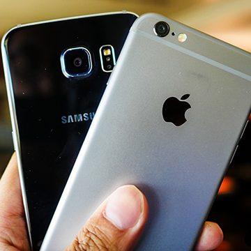 Apple şi Samsung, amendate pentru updateurile telefoanelor