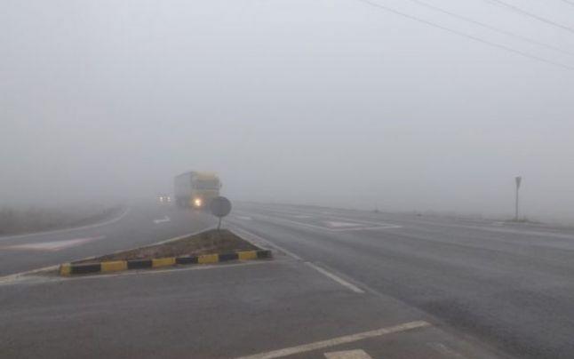 ANM. Cod Galben de ceaţă în Olt, Dolj şi Gorj
