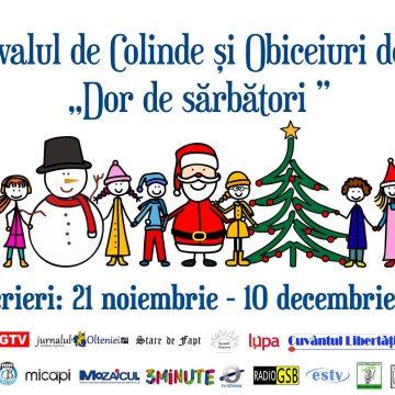 """Festivalul- Concurs de colinde şi obiceiuri de Crăciun """"Dor de sărbători"""", ediţia a XI-a"""