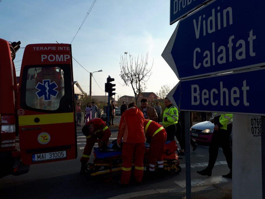Foto/VIDEO – Accident cu două victime