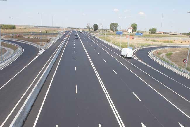 Oficial: 60 de km de autostradă daţi în folosinţă anul trecut