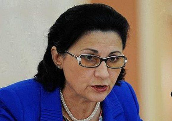Ecaterina Andronescu, noul ministru al Educaţiei