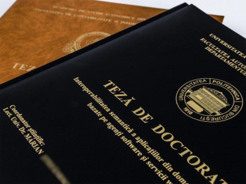 Metodologia de evaluare a studiilor universitare de doctorat, aprobată