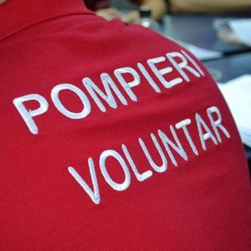 Casă salvată de pompierii voluntari gorjeni