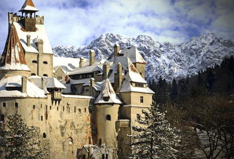 Târgul de Crăciun, la Castelul Bran