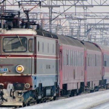 Circulaţia trenurilor, afectată de vremea nefavorabilă
