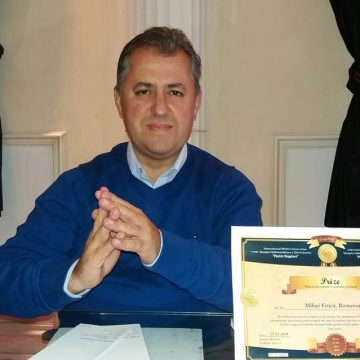 Mihai Firică, distins cu Premiul pentru poezie al Asociaţiei Internaţionale a Scriitorilor