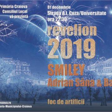 Craiova. Revelion cu Smiley, Sînă și restricții de circulație