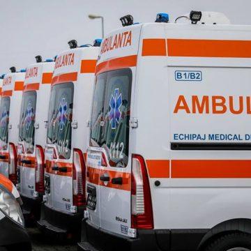 Flota de ambulanţe, înnoită