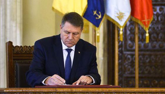 Cinci magistraţi eliberaţi din funcţie de preşedintele Klaus Iohannis