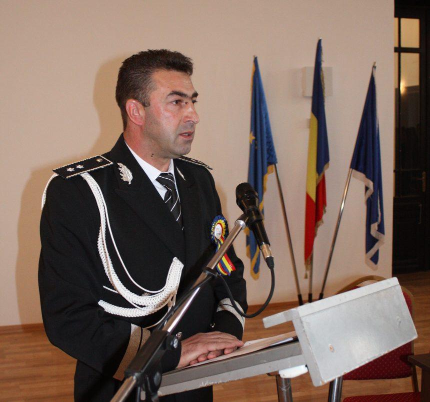 Șeful  IPJ Mehedinți,  avansat în grad,  înainte de termen