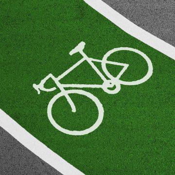 Piste de biciclişti, în Corabia