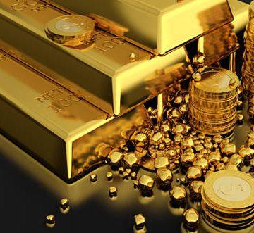 Preţul aurului a ajuns la  cel mai mare nivel din ultimele şase luni