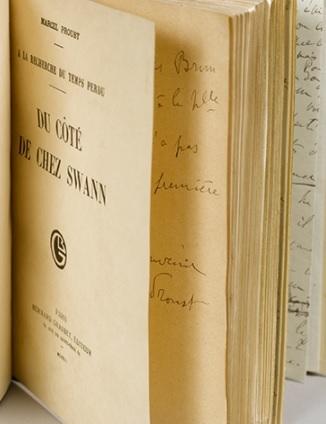 O lucrare a lui Proust, vândută pentru 1,51 milioane de euro