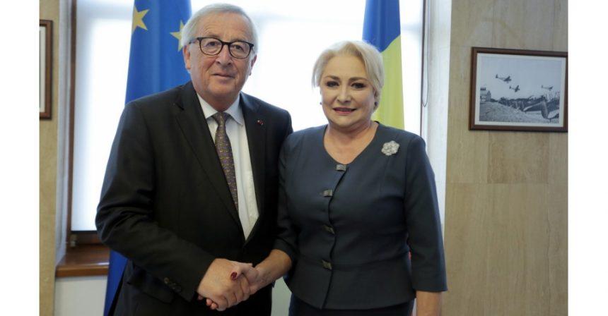 Juncker, după întâlnirea cu Dăncilă: Mai există divergențe între Guvernul României și Comisia Europeană în privința statului de drept