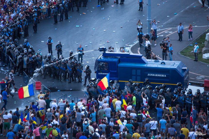 Jandarmeria București, somată să pună la dispoziția anchetatorilor comunicațiile din 10 august