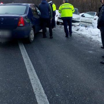Accident la ieşirea din Brebeni