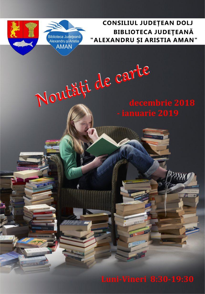 Biblioteca Aman. La An Nou, cărți noi