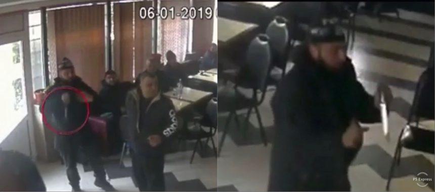 Oameni amenințați cu cuțitul într-un bar din Berbești