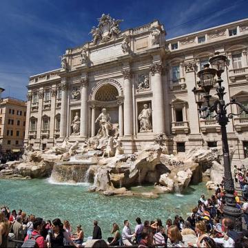 Italia. Primăria şi Biserica se ceartă pe banii din Fontana di Trevi