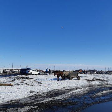 Poliţia continuă căutările la groapa de gunoi din Slatina. Cadavrul unui bărbat s-ar afla acolo
