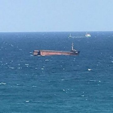 Un cargobot s-a scufundat în Marea Neagră, în largul Turciei